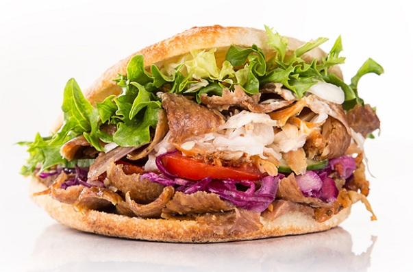 Bánh mì Doner Kebab Thổ Nhĩ Kỳ