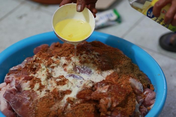 Công thức tẩm ướp thịt Doner Kebab